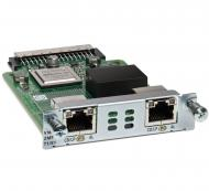 Модуль Cisco VWIC3-2MFT-T1/E1=