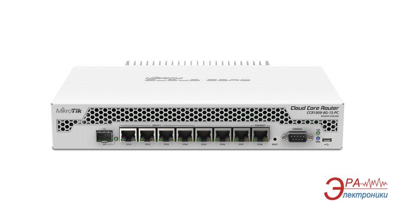 Маршрутизатор Mikrotik CCR1009-8G-1S-PC