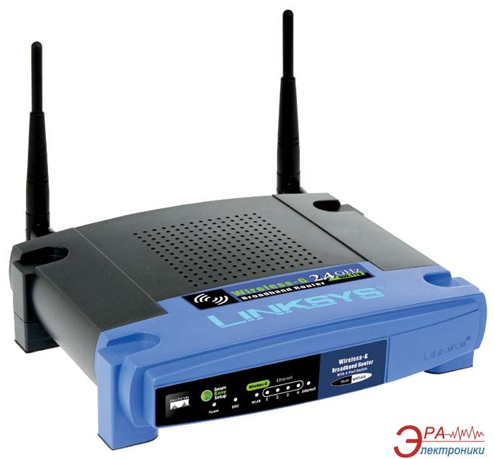 Маршрутизатор LinkSys WRT54GL