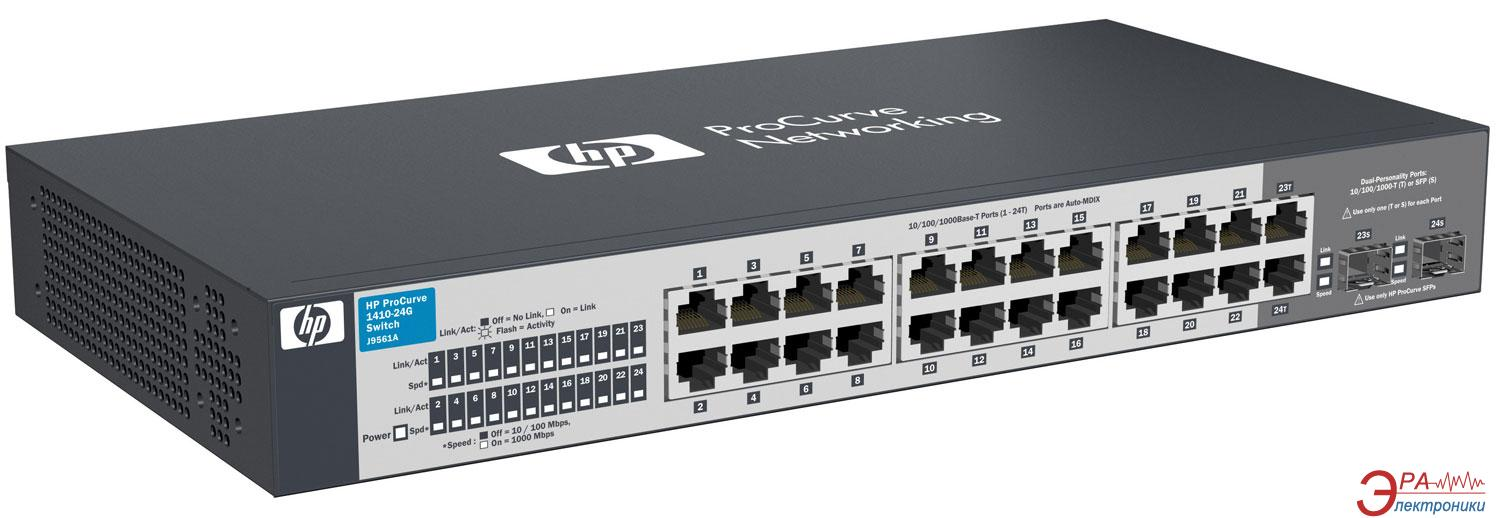 Коммутатор HP ProCurve Switch 1410-24G (J9561A)