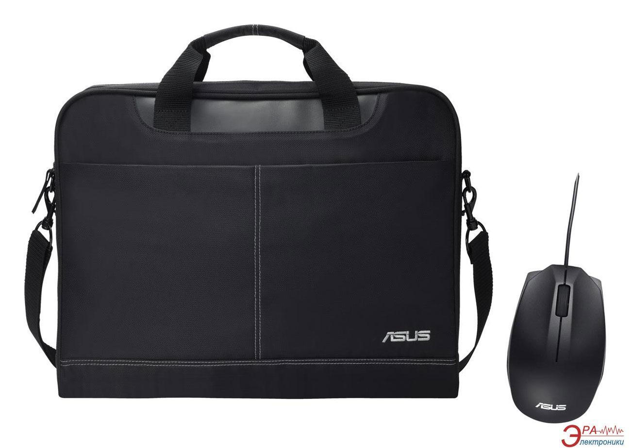 Сумка для ноутбука Asus NEREUS 15.6 + мышка Asus UT280 (90XB02M0-BAP000)