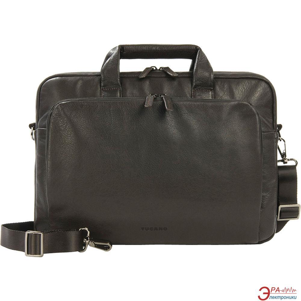 Сумка для ноутбука Tucano One Premium Slim case 15' Atelier Brown (BFOMP15-M)