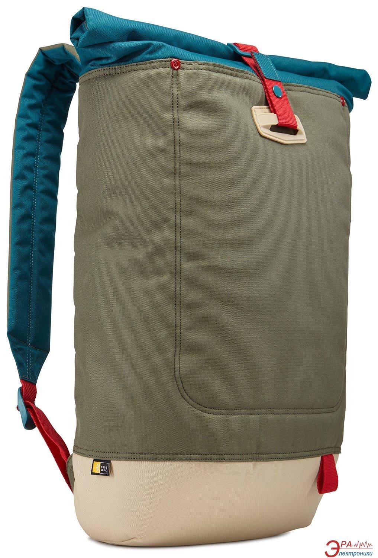 Рюкзак для ноутбука Case Logic Larimer Rolltop PetrolGreen (LAR114PTG)