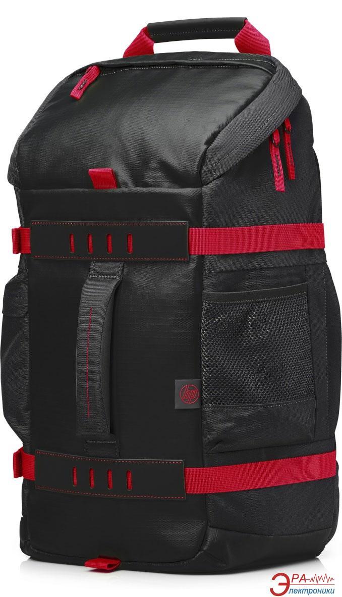 Рюкзак для ноутбука HP 15.6 Odyssey Black-Red (X0R83AA)