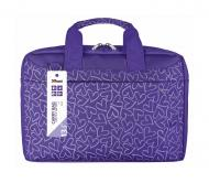 Сумка для ноутбука Trust Bari Carry Bag Purple hearts (21164)