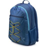 Рюкзак для ноутбука HP Active Backpack Blue/Yellow (1LU24AA)