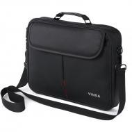 Сумка для ноутбука Vinga NB201BK Black (NB201BK)