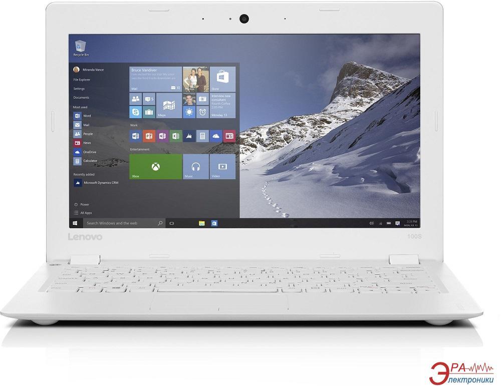 Нетбук Lenovo IdeaPad 100S (80R2006AUA) White 11.6