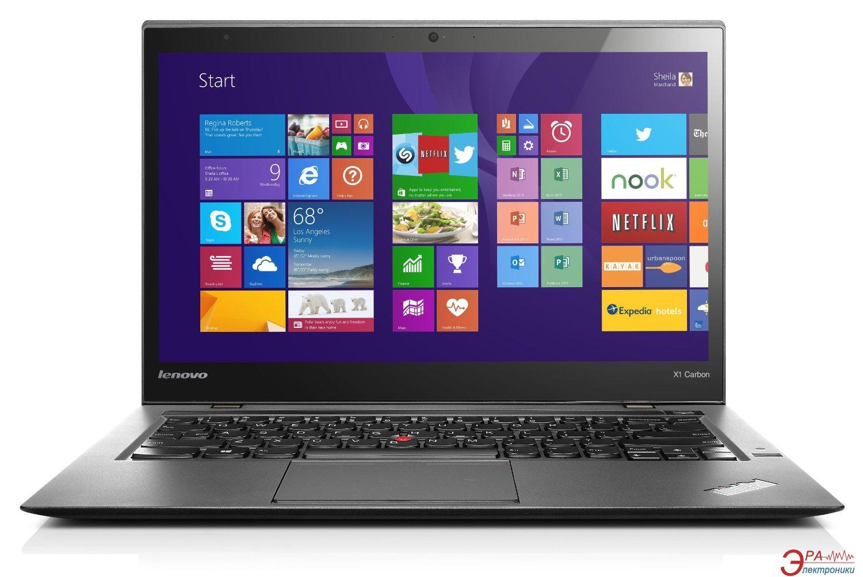 Ноутбук Lenovo ThinkPad X1 Carbon (20BSS02F00) Black 14