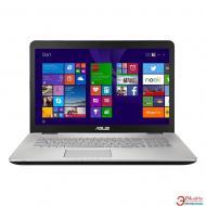 Ноутбук Asus N751JX-T4054H (90NB0842-M00610) Grey 17,3