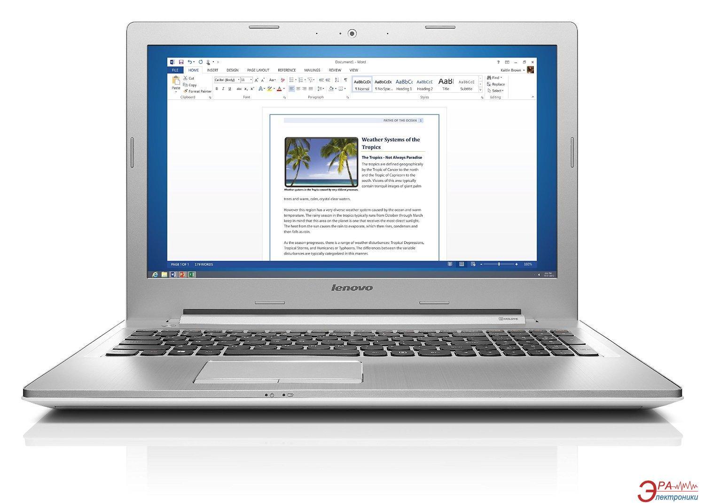 Ноутбук Lenovo IdeaPad Z51-70 (80K6008KUA) White 15,6