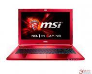 Ноутбук MSI GS60 2QE Ghost Pro (GS602QE-812UA) Red 15,6
