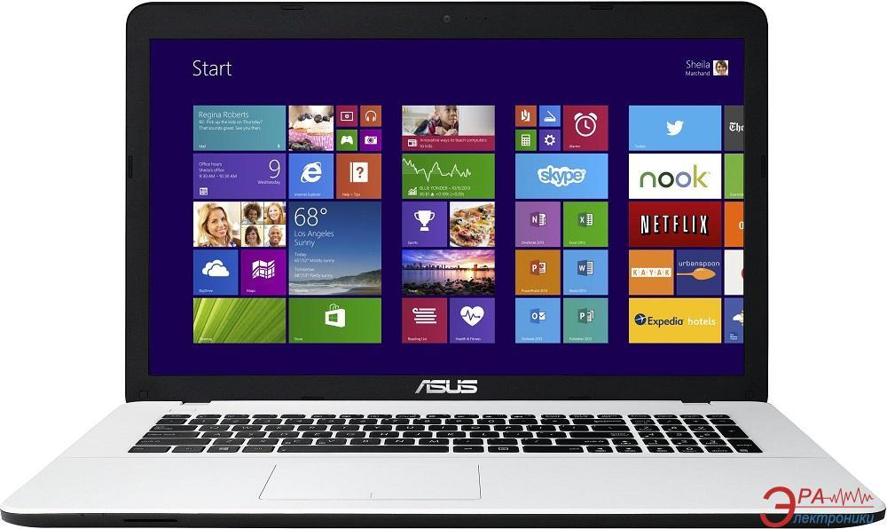 Ноутбук Asus X751LB (X751LB-TY159D) White 17,3
