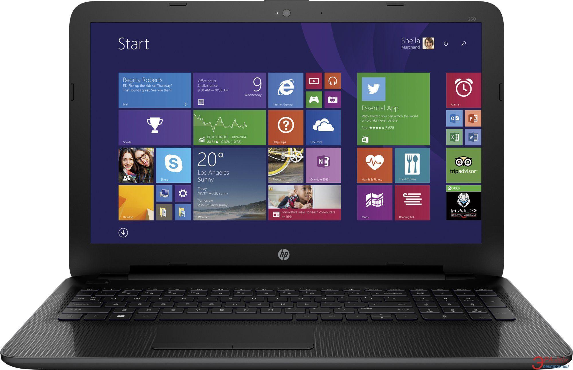 Ноутбук HP 250 G4 (M9S70EA) Black 15,6