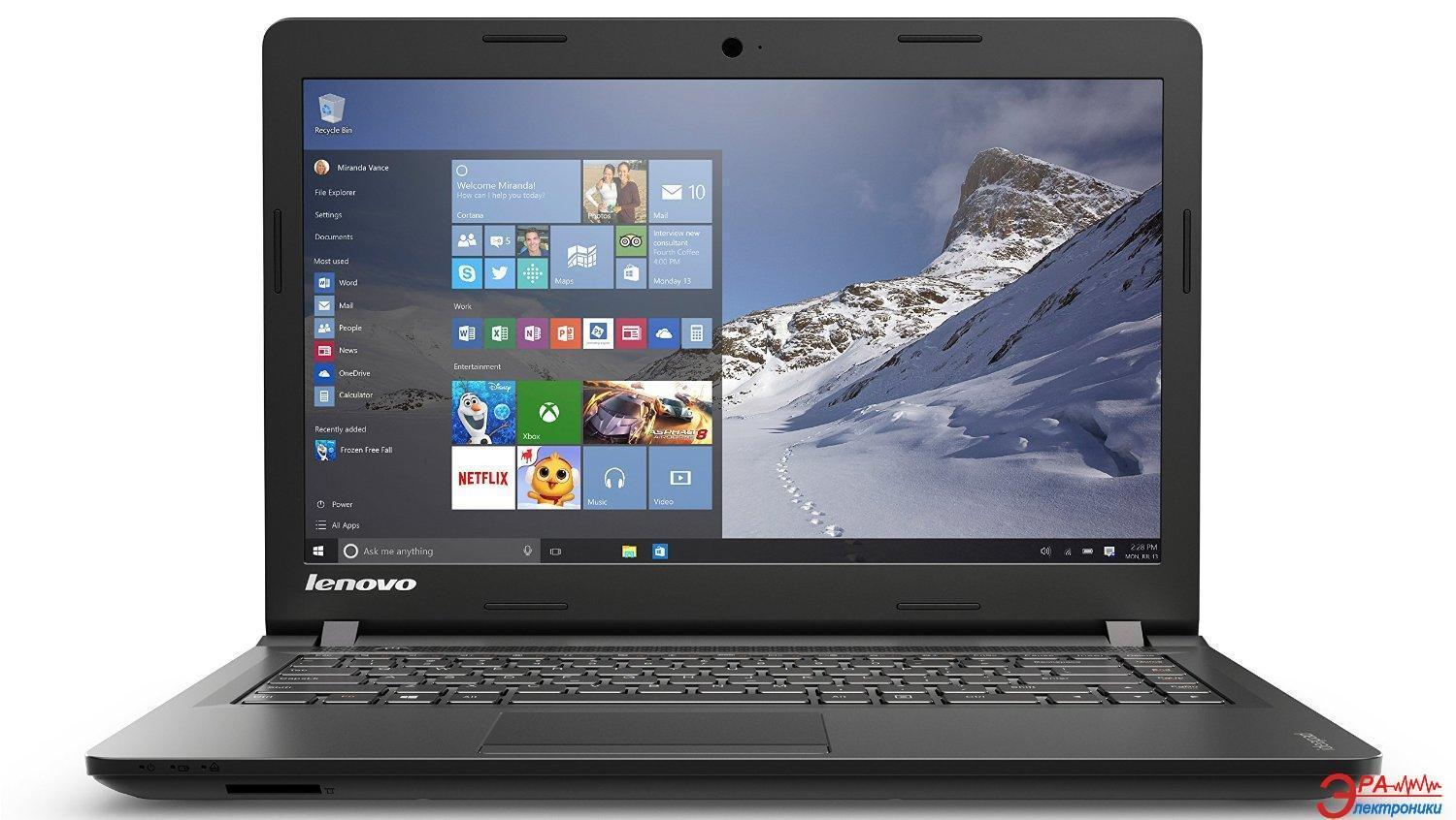 Ноутбук Lenovo IdeaPad 100-15 (80MJ00FBUA) Black 15,6
