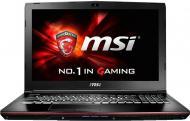 Ноутбук MSI GE62 6QC Apache (GE626QC-264XUA) Black 15,6