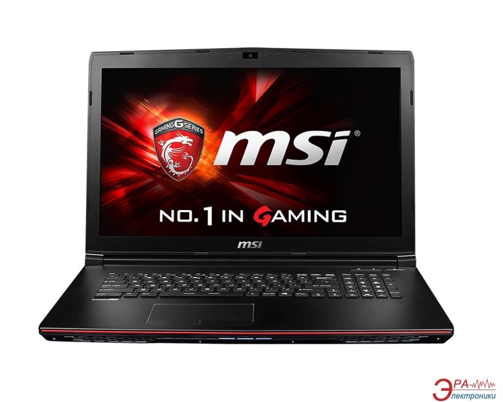 Ноутбук MSI GP72 2QD Leopard (GP722QD-203XUA) Black 17,3
