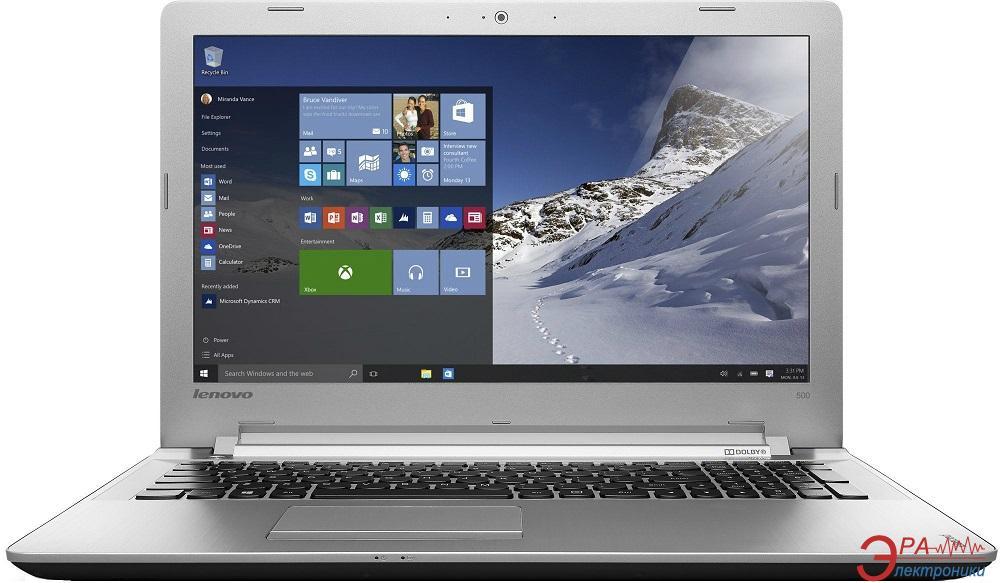 Ноутбук Lenovo IdeaPad 500-15 (80K40032UA) Black 15,6