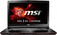 Ноутбук MSI GE72 6QC Apache (GE726QC-264XUA) Black 17,3