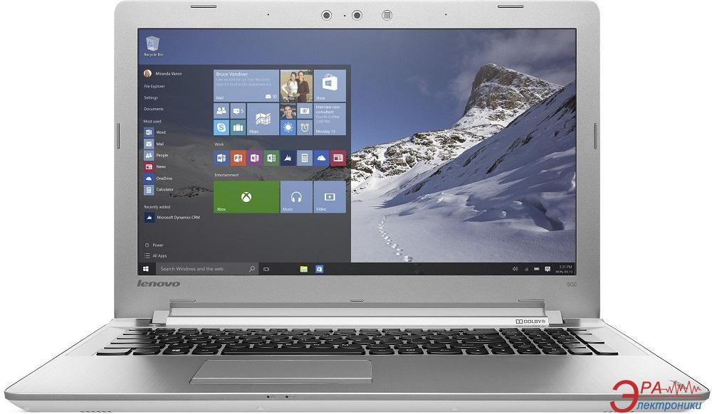 Ноутбук Lenovo IdeaPad 500-15 (80NT00BVUA) White 15,6