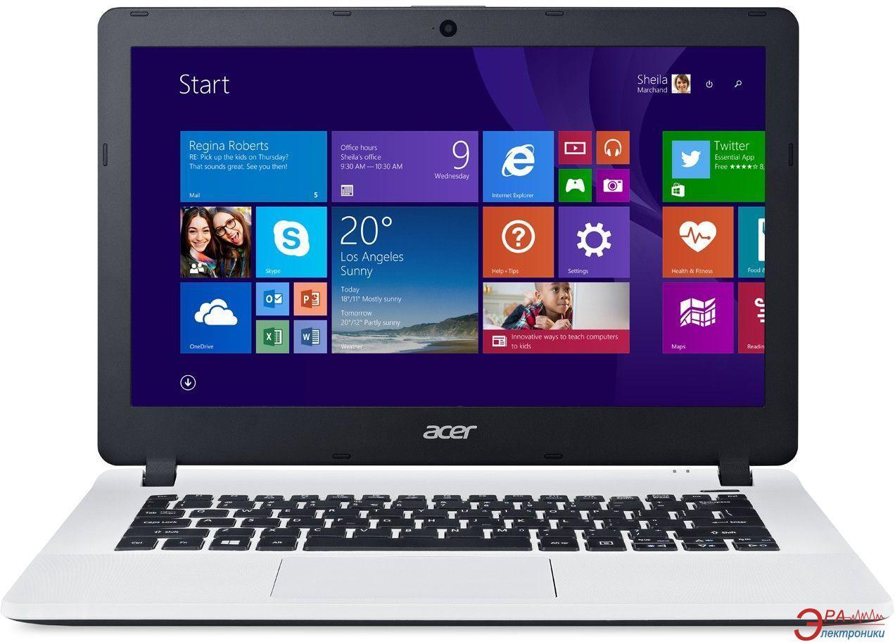 Ноутбук Acer Aspire ES1-331-P6A7 (NX.G12EU.012) White 13,3