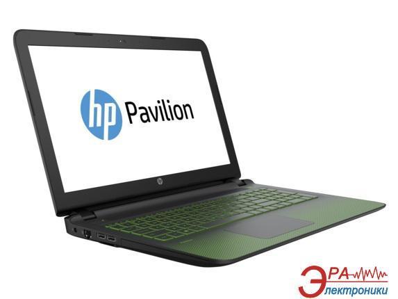 Ноутбук HP Pavilion Gaming — 15-ak196ur (P3M07EA) Black Green 15,6