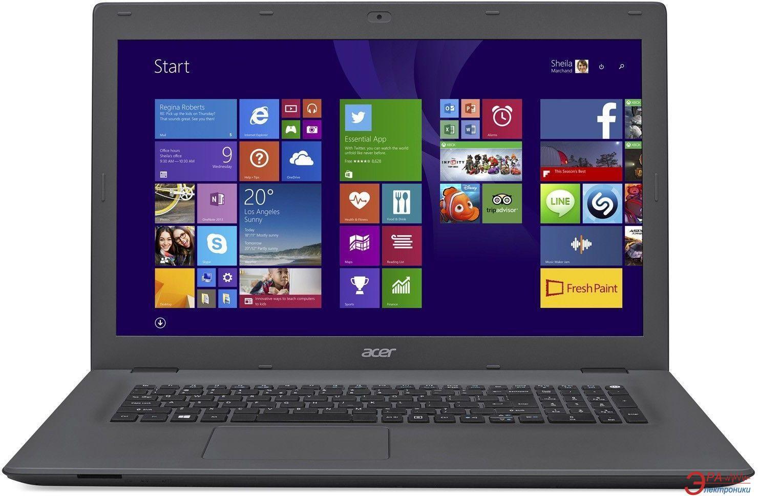 Ноутбук Acer Aspire E5-773-799L (NX.G2CEU.003) Black Grey 17,3