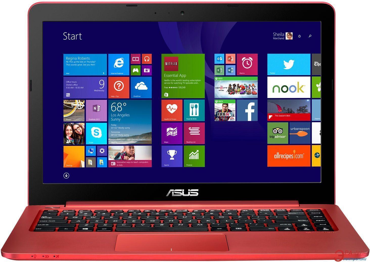Ноутбук Asus E402SA (E402SA-WX004D) Red 14