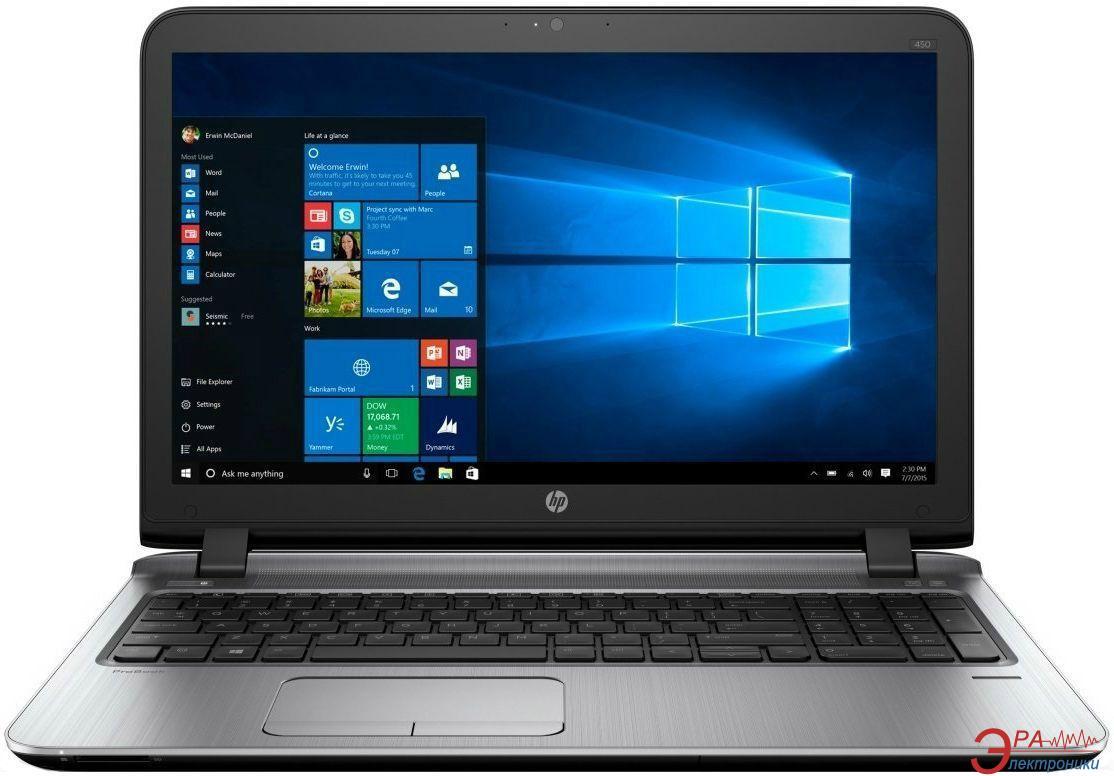 Ноутбук HP ProBook 450 G3 (P4P46EA) Black 15,6