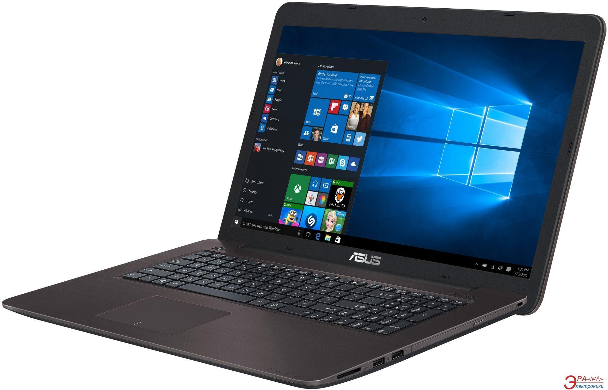 Ноутбук Asus X756UX-T4002D (90NB0A31-M00020) Brown 17,3