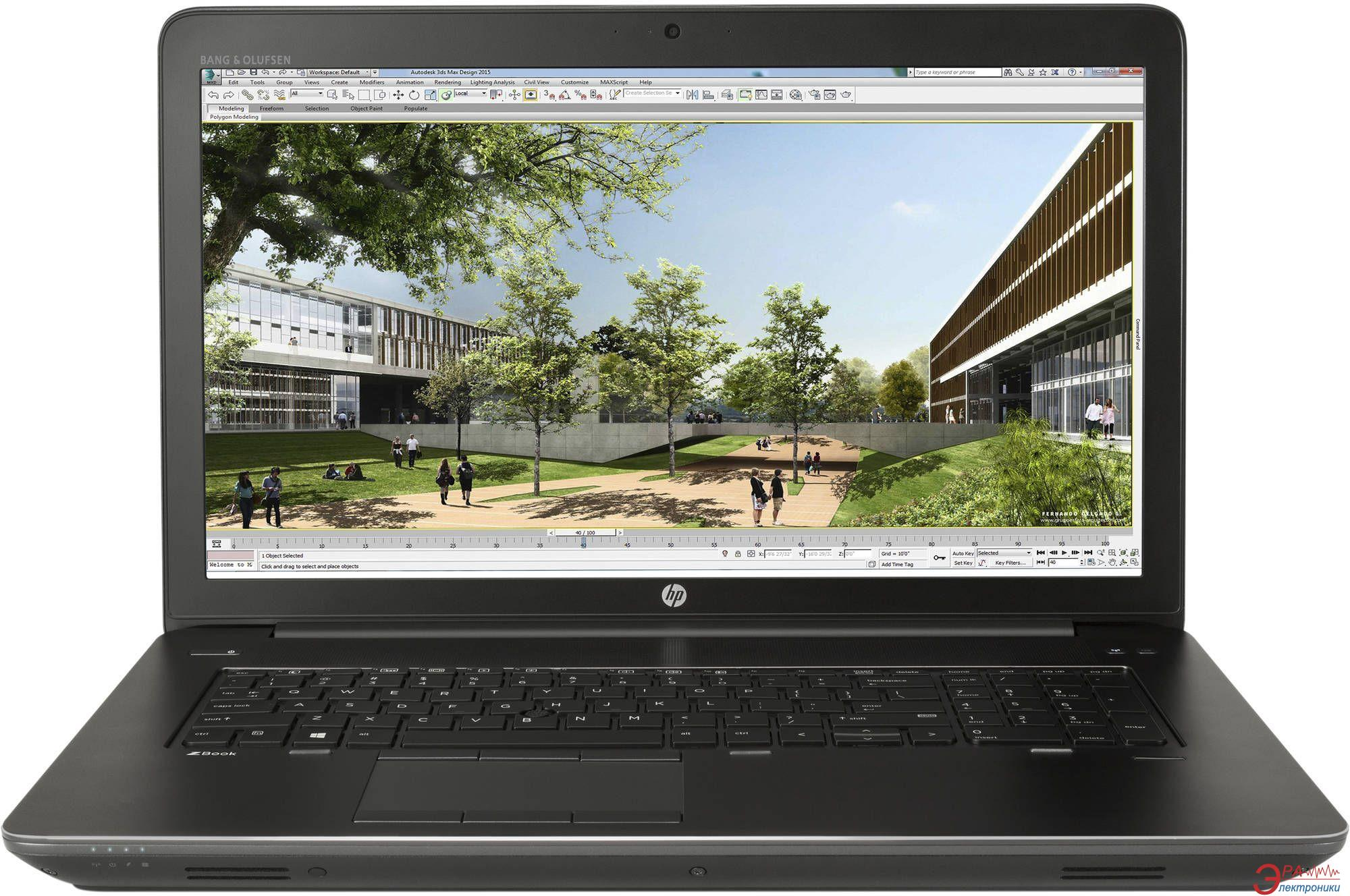Ноутбук HP Zbook 17 (M9L91AV) Black 17,3