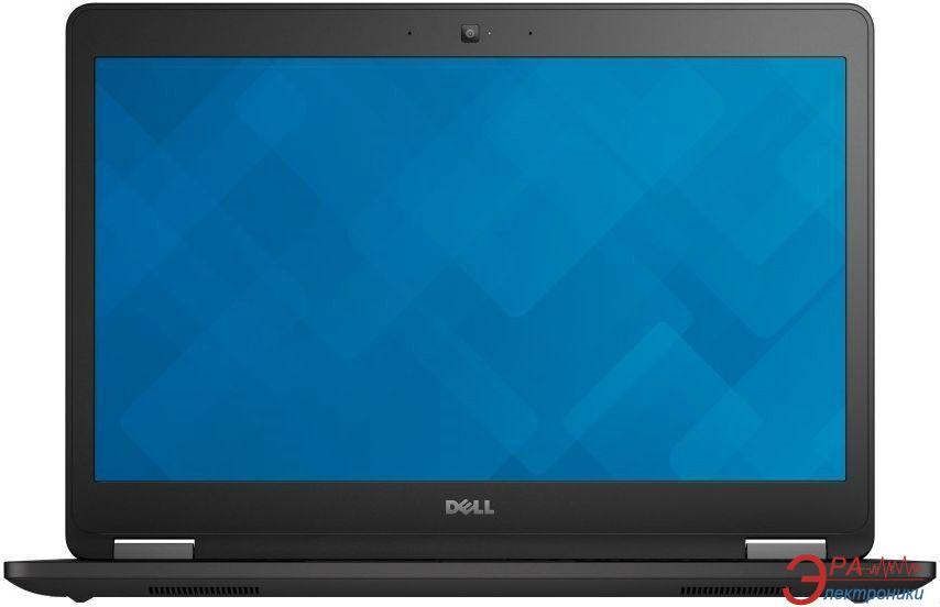 Ноутбук Dell Latitude E7470 (N001LE747014EMEA_ubu) Black 14