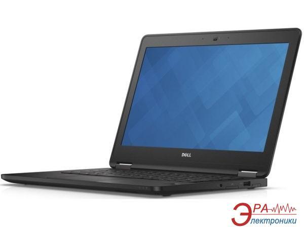Ноутбук Dell Latitude E7270 (N001LE727012EMEA_ubu) Black 12,5