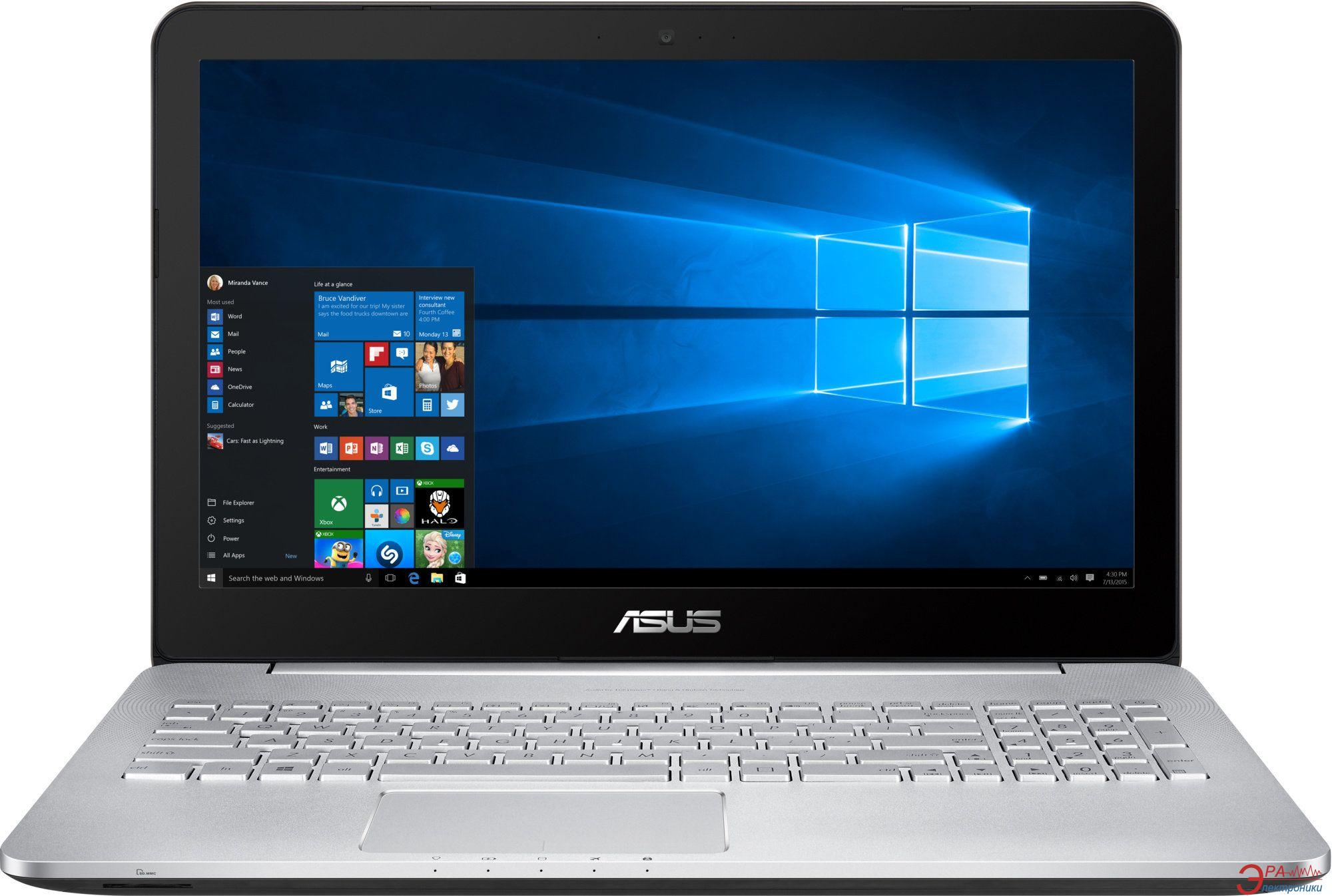 Ноутбук Asus N552VW-FI127T (90NB0AN1-M01380) Grey 15,6