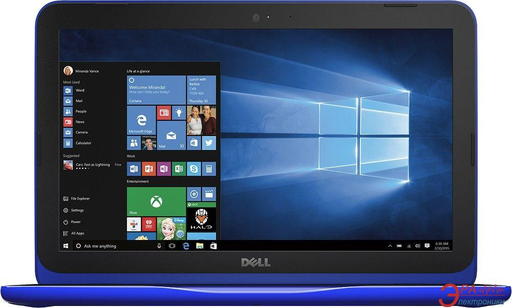 Ноутбук Dell Inspiron 3162 (I11C23NIW-46B) Blue 11.6