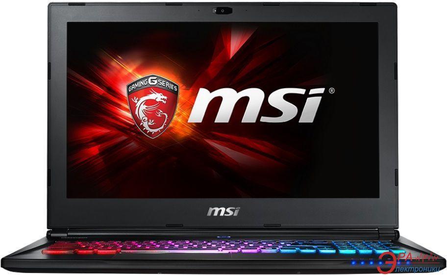 Ноутбук MSI GS60-6QE (GS606QE-422XUA) Black 15,6