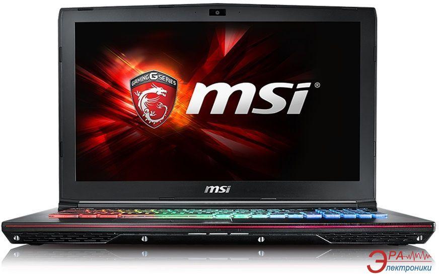 Ноутбук MSI GE62-6QF (GE626QF-251XUA) Black 15,6