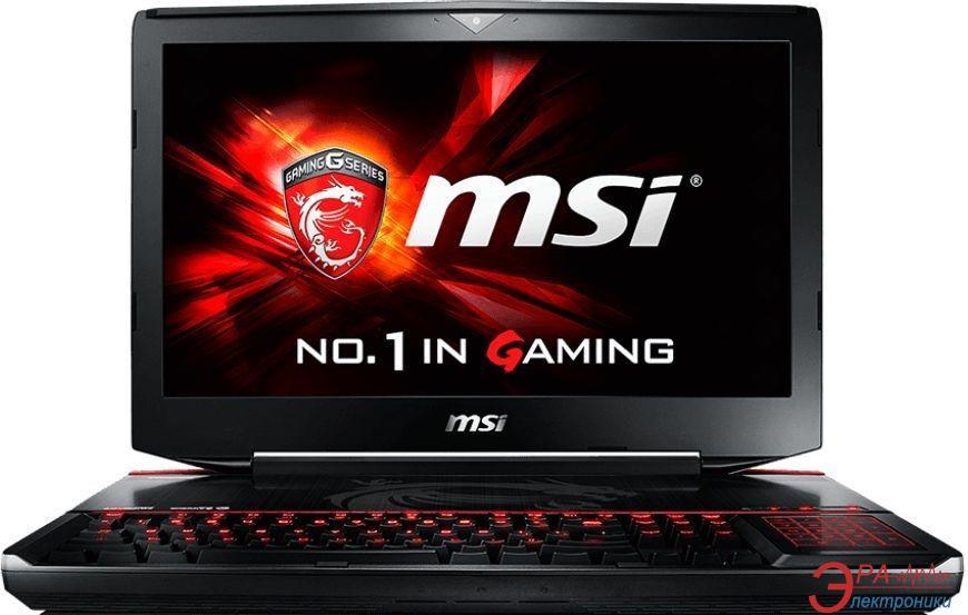 Ноутбук MSI GT80-S6QE (GT80S6QE-278UA) Black 18,4