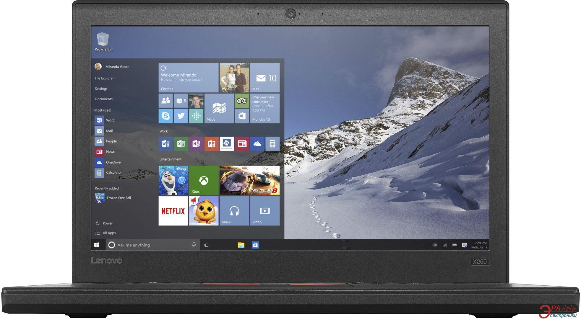 Ноутбук Lenovo ThinkPad X260 (20F6006YRT) Black 12,5