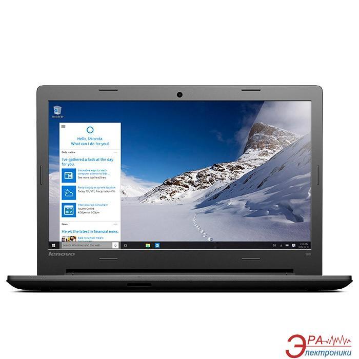 Ноутбук Lenovo IdeaPad 100-15IBD (80QQ00YHUA) Black 15,6