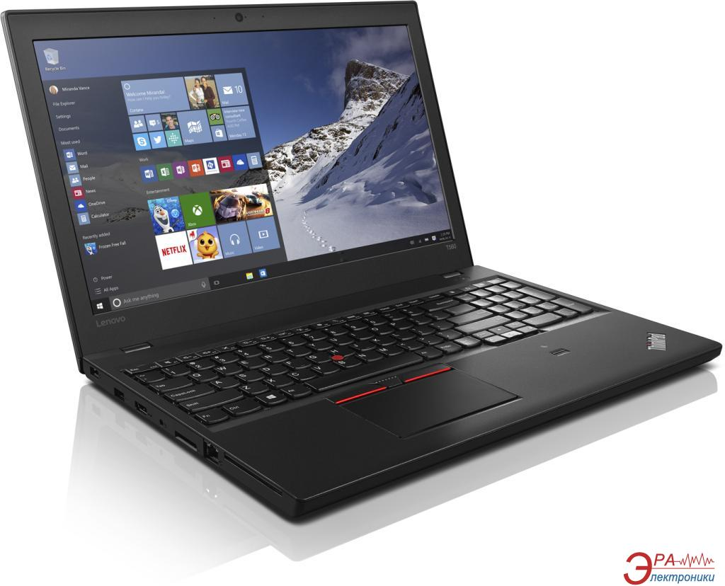 Ноутбук Lenovo ThinkPad T460 (20FNS03L00) Black 14