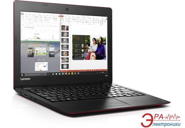 Ноутбук Lenovo Ideapad 100s-11IBY (80R20066UA) Red 11.6