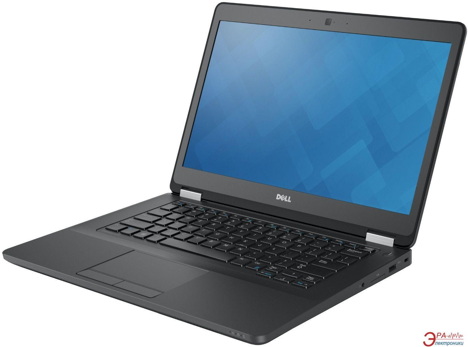 Ноутбук Dell Latitude E5470 (N041LE5470U14EMEA_ubu) Black 14
