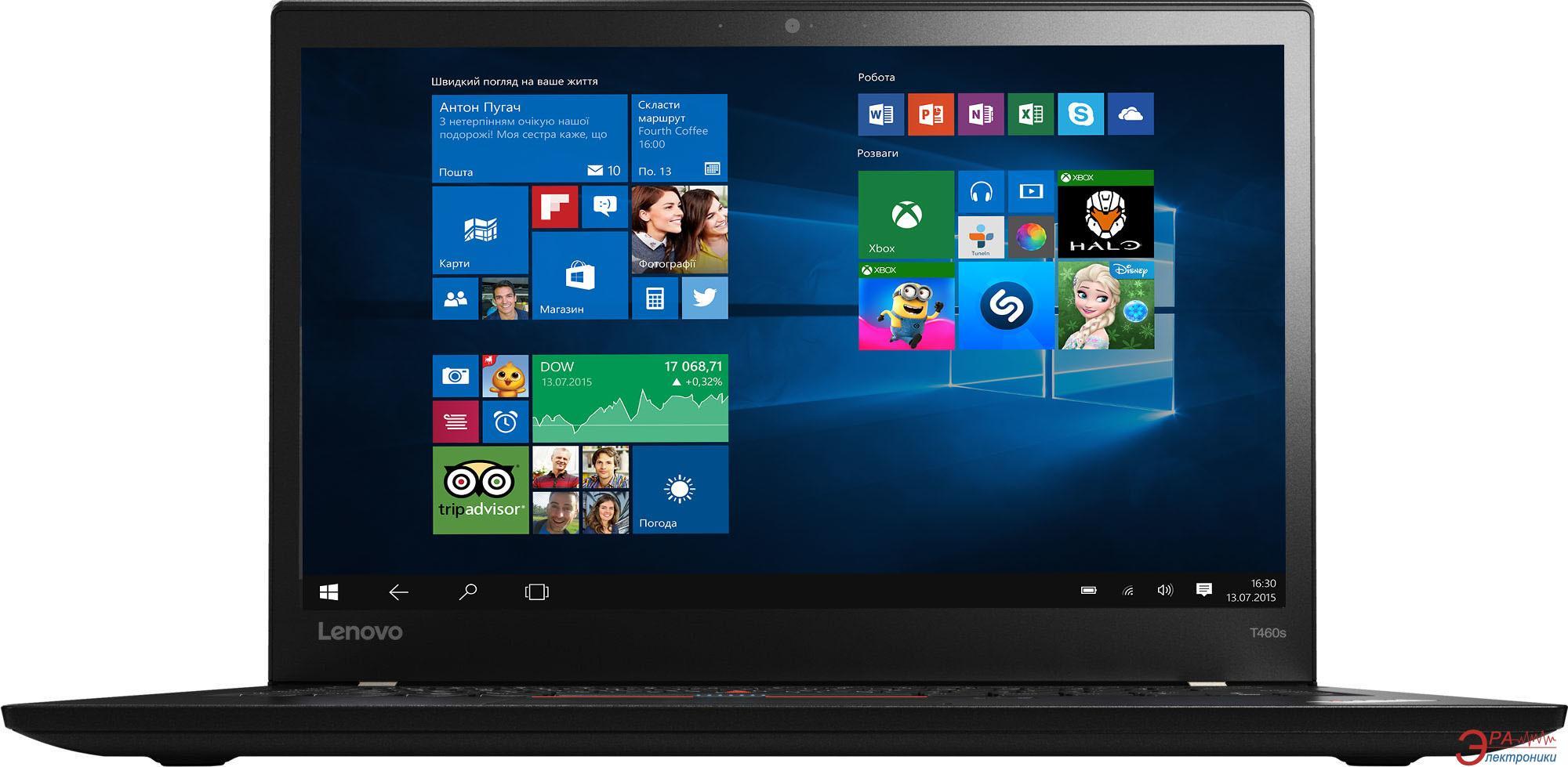 Ноутбук Lenovo ThinkPad T460p (20FWS00W00) Black 14