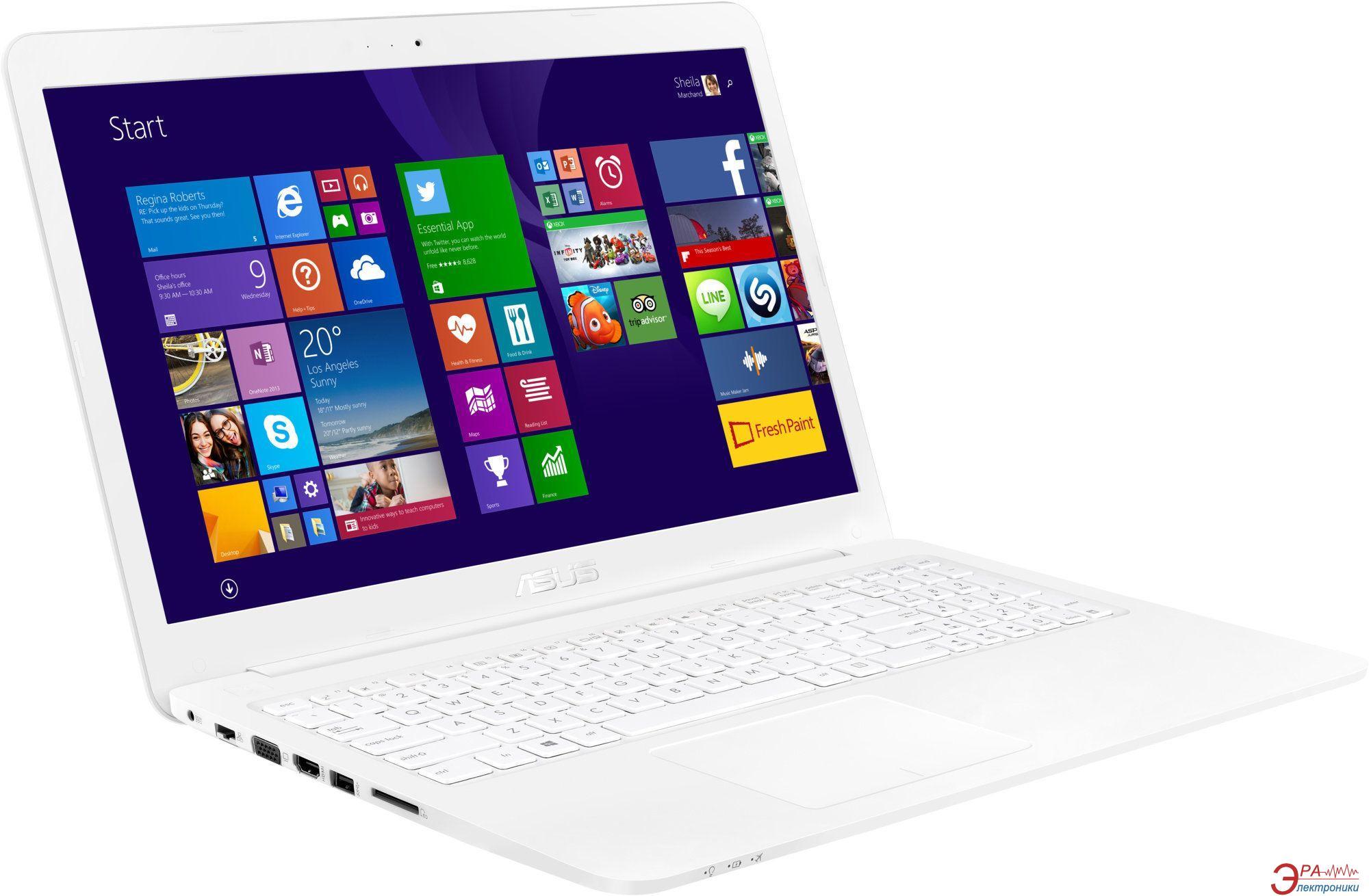 Ноутбук Asus E502SA-XO093T (90NB0B71-M01550) White 15,6