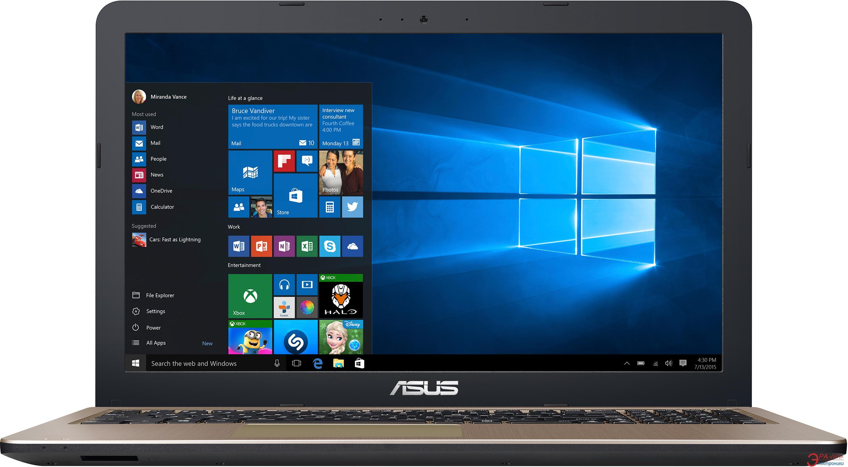 Ноутбук Asus X540SA-XX002D (90NB0B31-M03240) Black 15,6