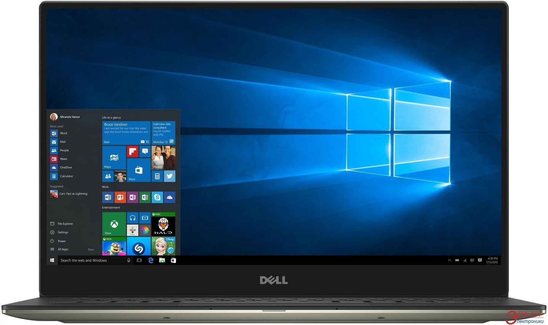 Ноутбук Dell XPS-13 (X378S1NIW-47G) Gold 13,3