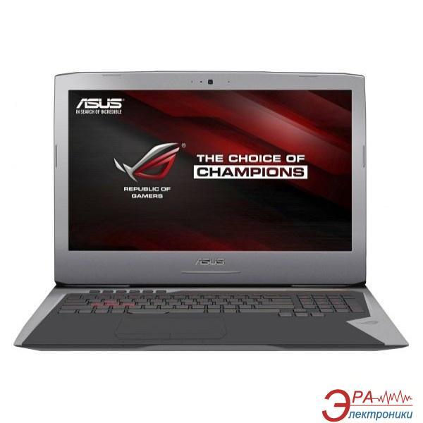 Ноутбук Asus G752VY-GC396R (90NB09V1-M04830) Grey 17,3