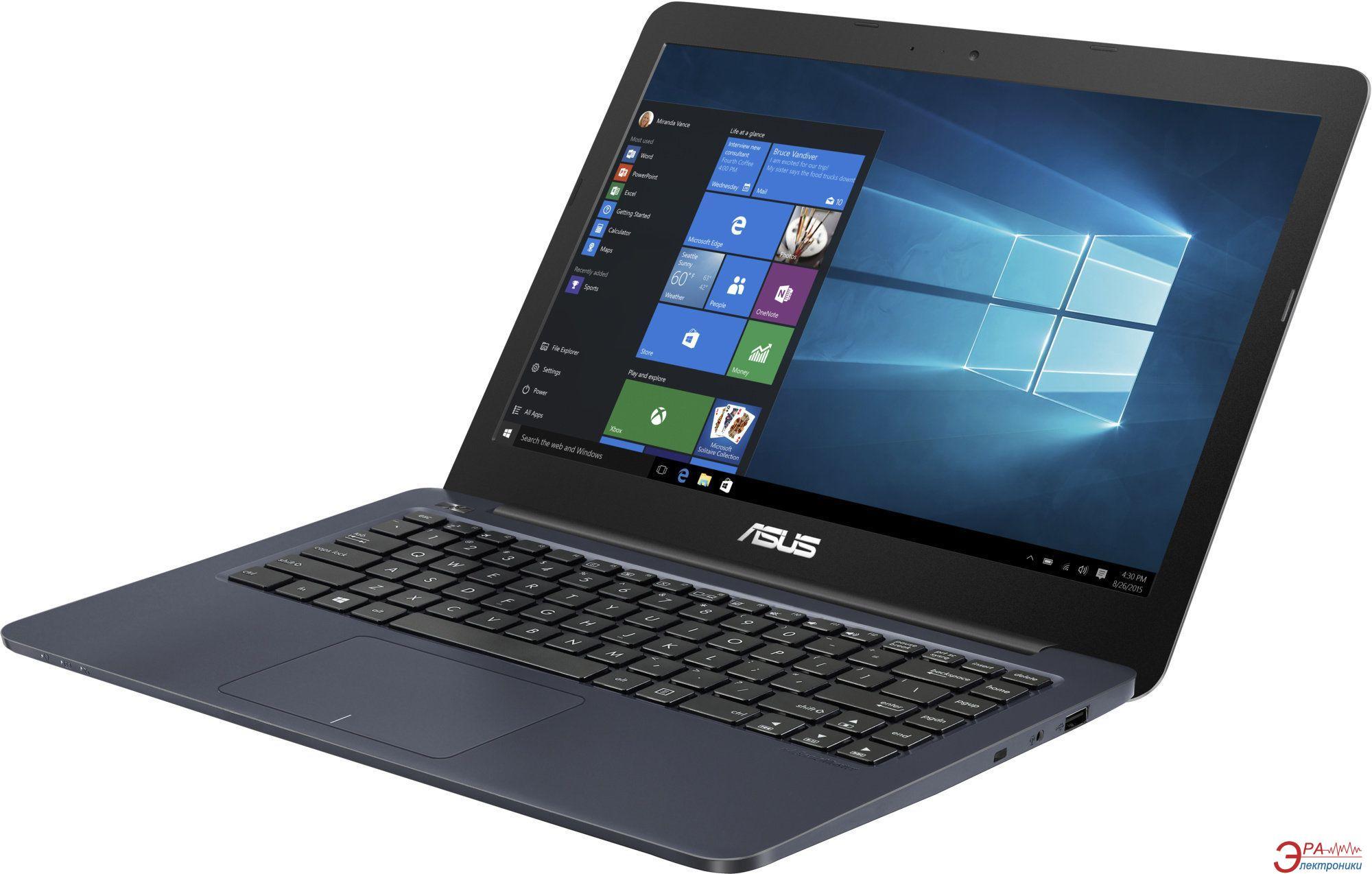Ноутбук Asus E402MA-WX0036D (90NL0033-M04030) Blue 14