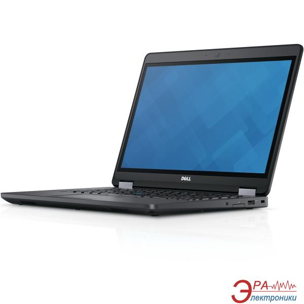 Ноутбук Dell Latitude E5470 (N004LE5470U14EMEA_UBU) Black 14